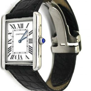 Cartier Solo tank watch