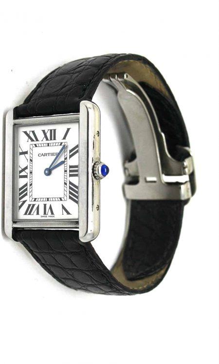 Cartier Solo tank watch