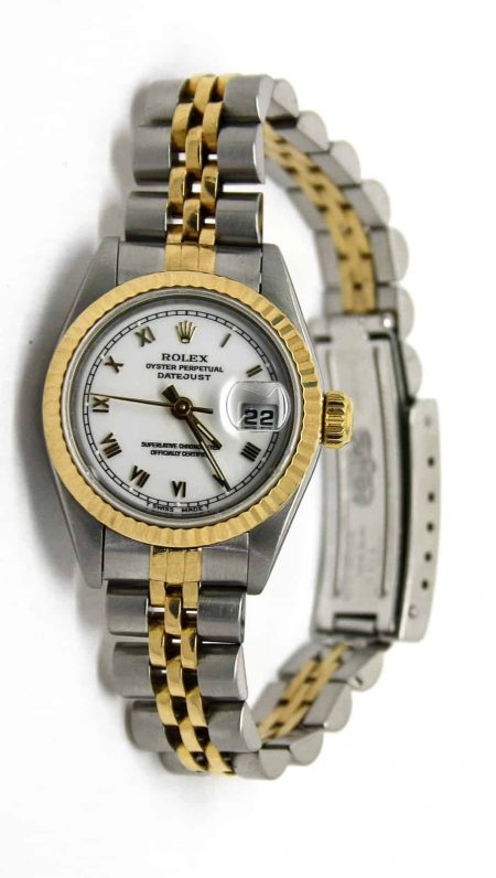 Rolex Datejust gold-steel lady watch