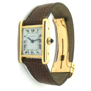Cartier 18ct Tank watch