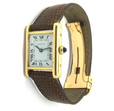 Cartier 18ct Tank watch
