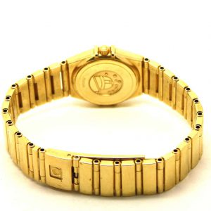 Omega Constellation 18ct gold diamond watch