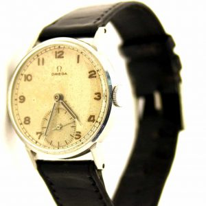 Vintage Omega military style watch