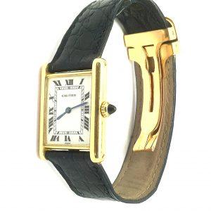 Vintage Cartier 18ct Tank watch