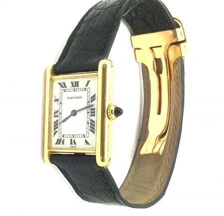 Vintage Cartier 18ct Tank watch